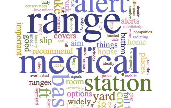Medical alert button range is important to understand when choosing a medical alert system.