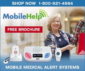 MobileHelp medical alert systems are an excellent option for keeping seniors safe.